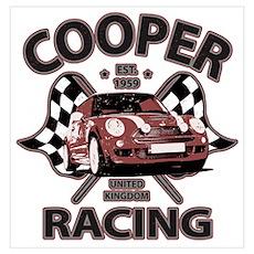 Cooper Racing Poster