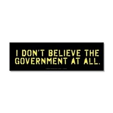 Anti State Car Magnet 10 x 3