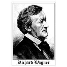Richard Wagner Framed Print