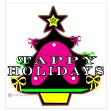 Tappy Holidays For Christmas Poster