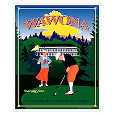 Wawona Golf Poster