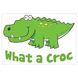 Crocodile Posters