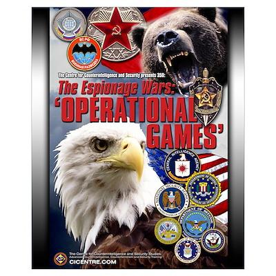 Espionage Wars 16x20 Poster