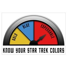 Star Trek Colors Poster