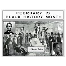 Black History Month Framed Print