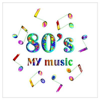 80's Music Canvas Art