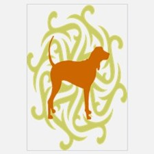 Lime & Rust Coonhound
