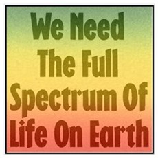 Full Spectrum of Life Framed Print
