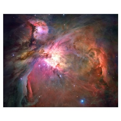 Orion Nebula Hubble Image Canvas Art
