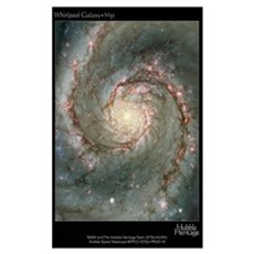 M51 the Whirlpool Galaxy Pri Poster