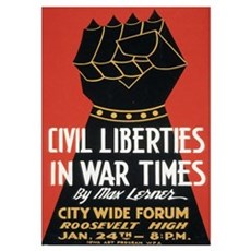 Civil Liberties Poster