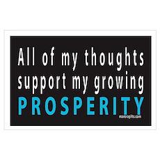Growing Prosperity Poster