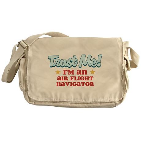 Trust me Air flight navigator Messenger Bag