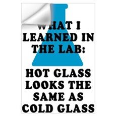 Lab Glass Wall Decal