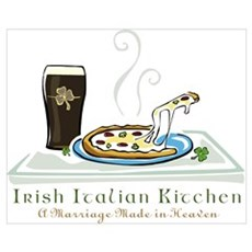 Irish Italian Kitchen Poster