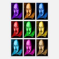 Pop Art Shakespeare (Ver. 2)