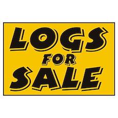 Logs Sale Poster