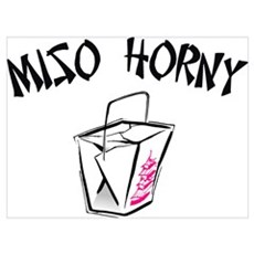 Miso Horny Poster