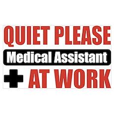 Medical Assistant Work Poster
