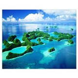 Palau Framed Prints