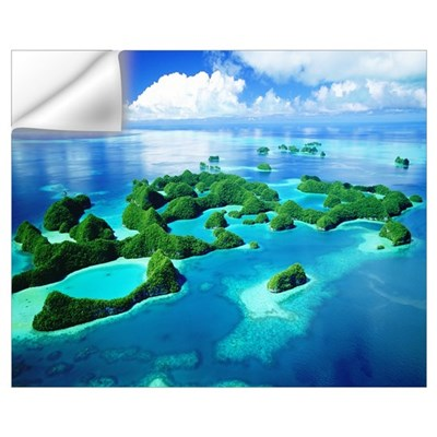 ROCK ISLANDS PALAU Wall Decal