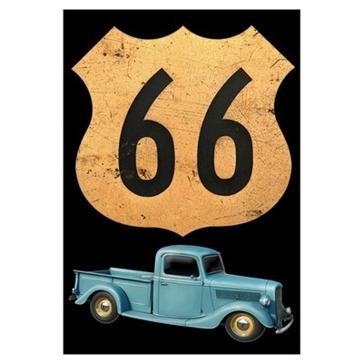 Route 66 Original Framed Print