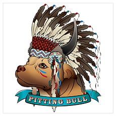 Pitting Bull Poster