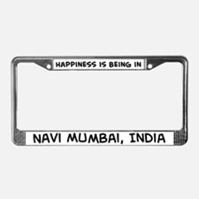 Happiness is Navi Mumbai License Plate Frame