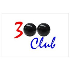 Exclusive: 300 BOWLER CLUB Poster