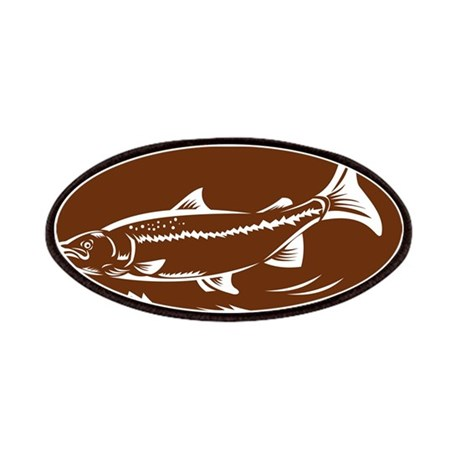 trout fish Patches