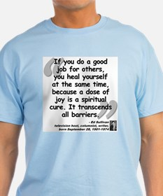 Sullivan Joy Quote T-Shirt