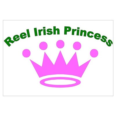 Reel Irish Princess Canvas Art
