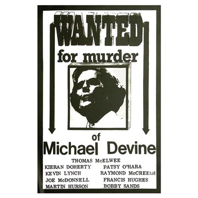 Wanted for murder Re-Print Poster