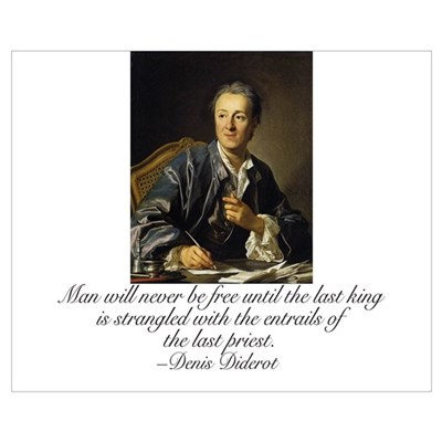 Diderot Quote Poster