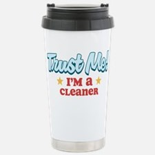 Trust me Cleaner Stainless Steel Travel Mug