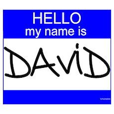"""""""David"""" Poster"""