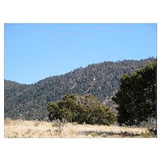 Desert Mountain 6 Poster