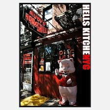 """""""Hell's Kitchen Pig"""" Fine Art 20x28"""""""