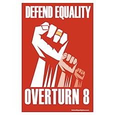 - Post ElectionDefend Equality Design Poster