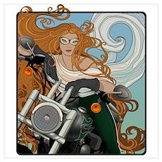 Biker Chic 1 Poster