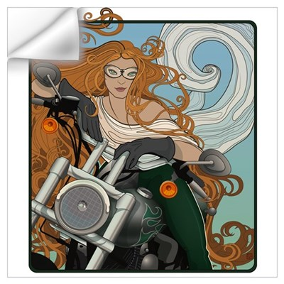 Biker Chic 1 Wall Decal