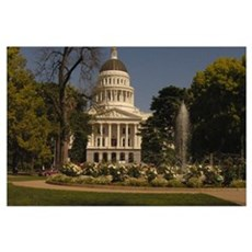 Sacramento State Capital Poster