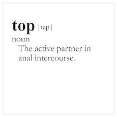 TOP / Gay Slang Poster