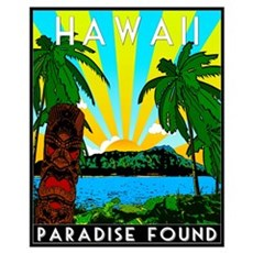 HAWAII - ART DECO Poster