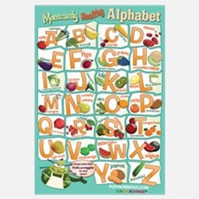 Large Healthy Alphabet