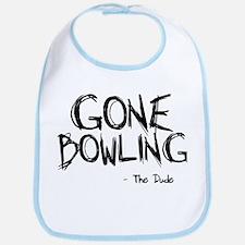 'Gone Bowling' Bib
