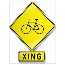 Bicycle XING Canvas Art