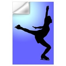 Figure Skating Wall Decal