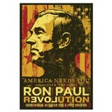 Ron paul revolution Wrapped Canvas Art