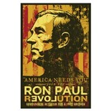 Ron paul revolution Framed Prints